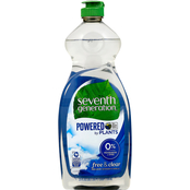 Seventh Generation Free and Clear Dish Soap, 25 oz.