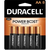 Duracell AA Batteries 8 pk.