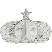 Air Force Senior Space/Missile Badge Non-Subdued, Pin-on, Regular Size