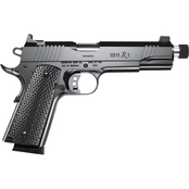 Remington R1 Enhanced 45 ACP 5.75 in. Threaded Barrel 8 Rds 2-Mags Pistol Black