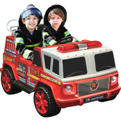 KidMotorz Two Seater Fire Engine 12V Ride On