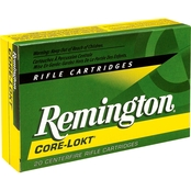 Remington Core Lokt 7x57 140 Gr. Pointed Soft Point, 20 Rounds