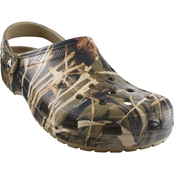 Crocs Men's Classic Realtree V2 Clog Shoes