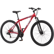 Mongoose Mens Impasse 29 in. Front Suspension Mountain Bicycle