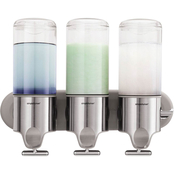 simplehuman Triple Wall Mount Pump