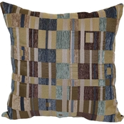 Brentwood Originals Circle Square Toss Pillow
