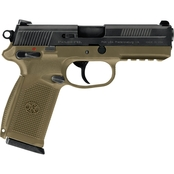 FN FNX-45 45 ACP 4.5 in. Barrel 15 Rds 3-Mags Pistol Black