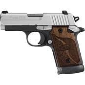 Sig Sauer P938 9mm 3 in. Barrel 7 Rnd NS Pistol Two Tone