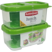 Rubbermaid Lunch Blox Side Kit 2 pk.