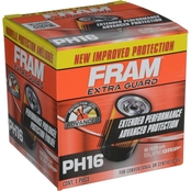 FRAM Extra Guard Spin On Oil Filter, PH16