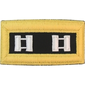 Army CPT Chaplain Female Shoulder Straps