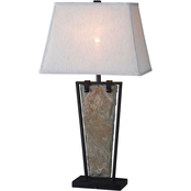 Kenroy Home Free Fall Table Lamp