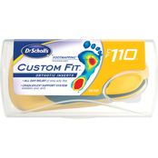 Dr. Scholl's Custom Fit Orthotics Inserts CF110