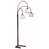 Kenroy Home Crush 3 Light Arc Lamp