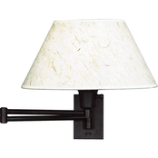Kenroy Home Simplicity Wall Swing Arm Light