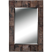 Kenroy Home Birch Bark Wall Mirror