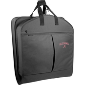 WallyBags NCAA Alabama Crimson Tide 40 in. Suit Length Garment Bag with Pockets