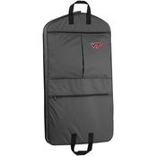 WallyBags NCAA Virginia Tech Hokies 40 in. Suit Length Garment Bag with Pockets