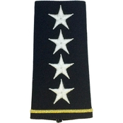 Army Shoulder Mark Officer General GEN Large Male Slide-On