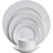 Wedgwood by Vera Wang Blanc Sur Blanc Bone China 5 pc. Place Setting