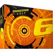 Bridgestone Golf E6 Yellow Golf Balls 12 pk.