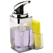 simplehuman Square Push Soap Pump with Caddy