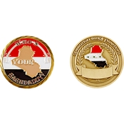 Challenge Coin Iraqi Freedom Baghdaddy Coin