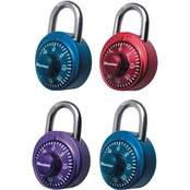 Master Lock 1-7/8 in. (48mm) Wide Combination Dial Padlock with Aluminum Cover