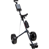 Pinemeadow Golf Courier 2 Wheel Push Cart