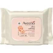 AVEENO Ultra-Calming Makeup Removing Wipes 25 ct.