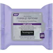 Neutrogena Makeup Remover Cleansing Towelettes Night Calming 25 Pk.
