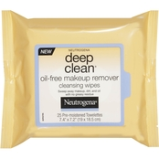 Neutrogena Deep Clean Oil-Free Makeup Remover Cleansing Wipes 25 Pk.