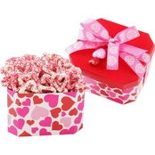 Alder Creek Chocolate Dipped Heart Shaped Pretzels Gift Tin