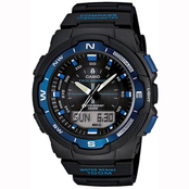 Casio Men's Blue Combo Twin Sensor Watch