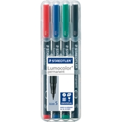 Staedtler Lumocolor Permanent SuperFine Mapping Pens
