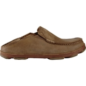 Olukai Men's Moloa Premium Leather Slip On Shoes