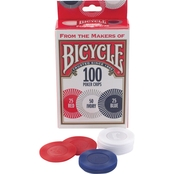 BICYCLE 100CT POKER CHIPS