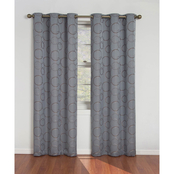 Eclipse Merdian Blackout Window Curtain Panel 80 x 84