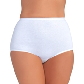 Vanity Fair Perfectly Yours Tailored Classic Cotton Briefs