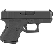 Glock 26 Gen 3 9MM 3.43 in. Barrel 10 Rds 2-Mags Pistol Black