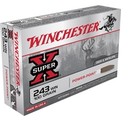 Winchester Super-X .243 Win 100 Gr. Power-Point, 20 Rounds