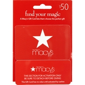 Macy's Real Time Gift Card