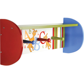 Trend Lab Dr. Seuss ABC Shelf with Pegs