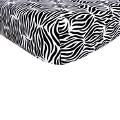 Trend Lab Zahara Zebra Crib Sheet