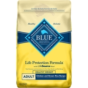 Blue Buffalo Life Protection Formula Healthy Weight Chicken and Brown Rice, 30 lb.