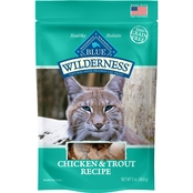Blue Buffalo Wild Cat Treats Chicken & Trout 2 Oz.
