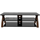 Z-Line Willow TV Stand, 67 in.