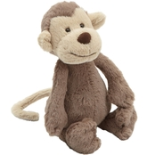 Jellycat Medium Bashful Monkey Stuffed Toy