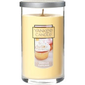Yankee Candle Vanilla Cupcake Medium Perfect Pillar Candle