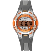Armitron Women's Sport Orange Accented Digital Resin Strap Watch 35mm 45/7030ORG